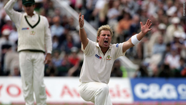 Shane Warne has been the focus of a campaign which is trying to encourage the leg-spinner back to Test cricket.