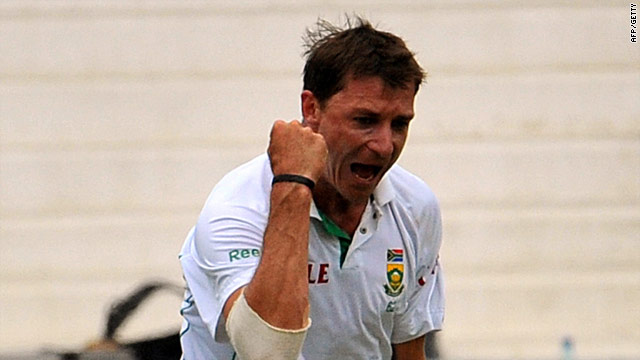 Dale Styen once again proved a handful for the Indian batsmen.