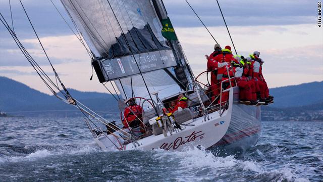 Wild Oats XI heads into Hobart on Tuesday, having led since the race left Sydney Harbor on Sunday.
