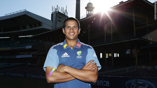 Usman Khawaja will become the first Muslim to play cricket for Australia.