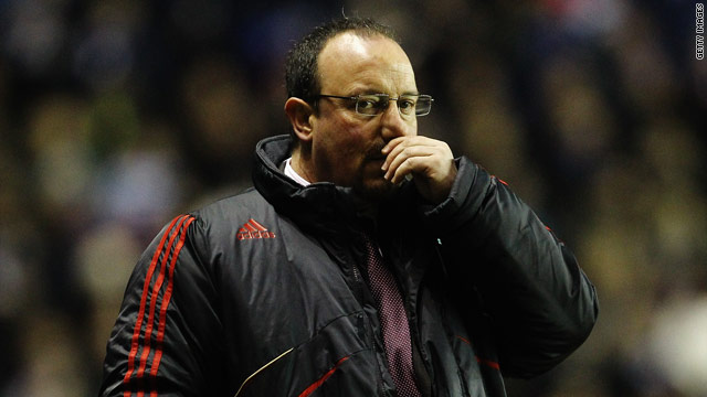 Liverpool manager Rafael Benitez was left to rue another frustrating performance from his team.