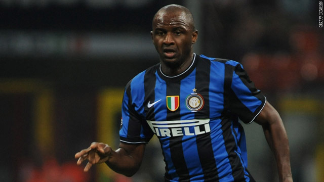 Jose Mourinho has confirmed Patrick Vieira has played his last game for Inter Milan and is set to join Manchester City.