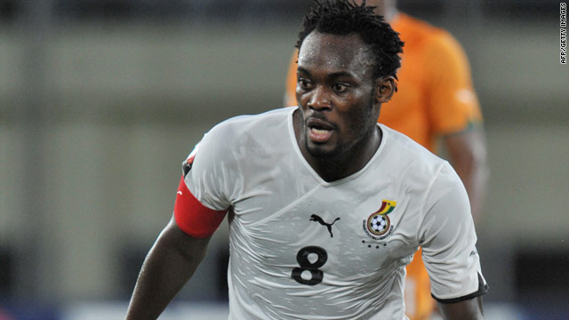 Michael Essien will miss Chelsea's key clashes with Arsenal and Inter Milan due to his knee injury.