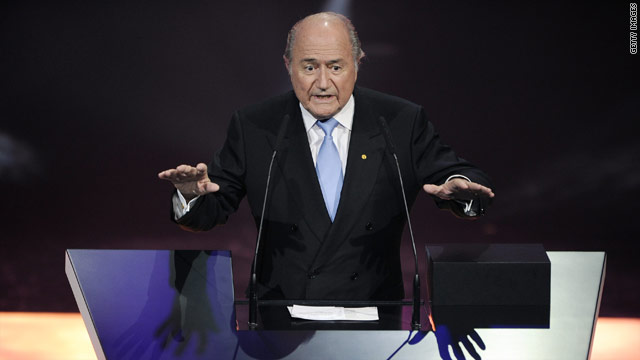 Speaking in Madrid FIFA president Sepp Blatter has given a strong indication that the 2018 World Cup will be held in Europe.