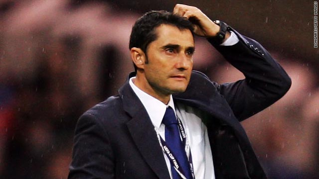 Sacked manager Ernesto Valverde accepted that he had to take responsibility for Villarreal's recent poor form.
