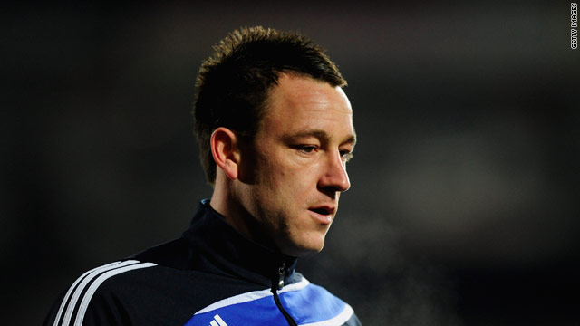 Under pressure Chelsea and England captain John Terry will not break his silence over an alleged affair.