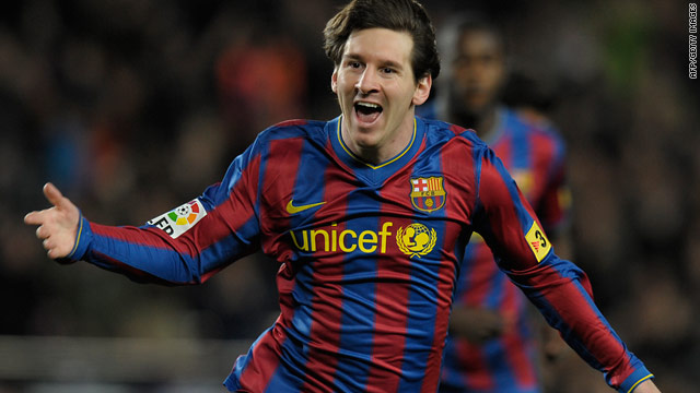 World player of the year Lionel Messi continued his rich vein of form for Barca with a goal and an assist against Getafe.