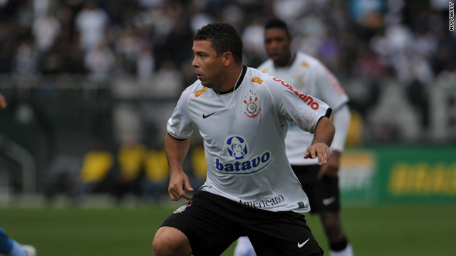 Ronaldo has been plying his trade with Corinthians and has regained his scoring touch.