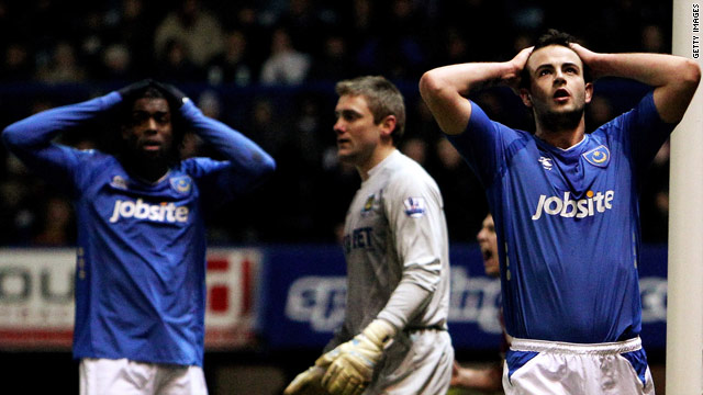 Portsmouth are already bottom of the Premier League and now face a nine-point penalty.