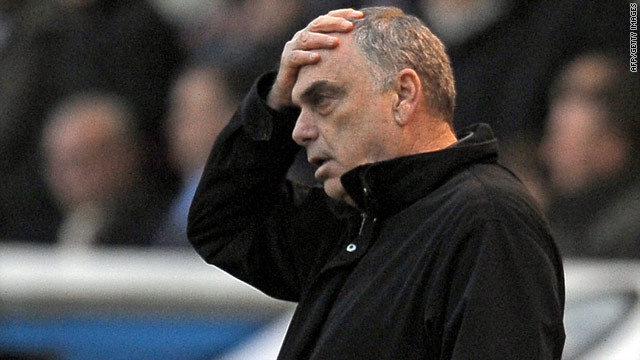 Portsmouth manager Avram Grant has had to endure a season disrupted by financial woes off the field.