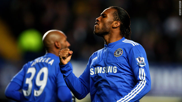 Drogba's goals have powered Chelsea's triple bid this season.