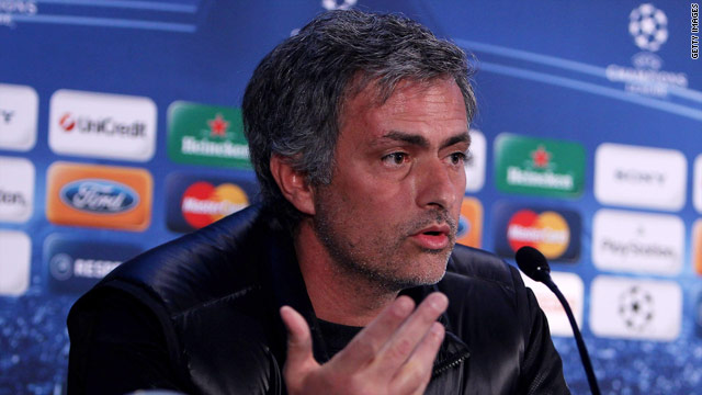 Jose Mourinho won two consecutive English Premier League titles with Chelsea, but not the Champions League.