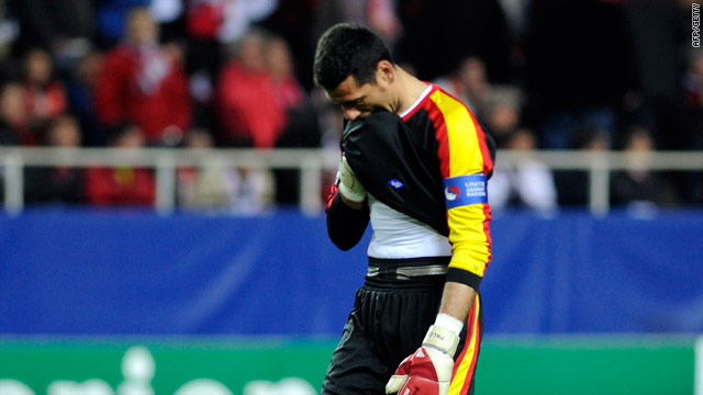 Sevilla goalkeeper Andres Palop reflects on gifting CSKA their second and decisive goal.