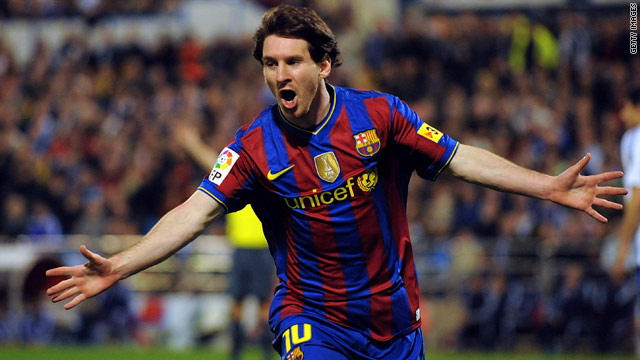 Lionel Messi has the chance to score his 200th goal for Barcelona in Wednesday's league clash with Osasuna.