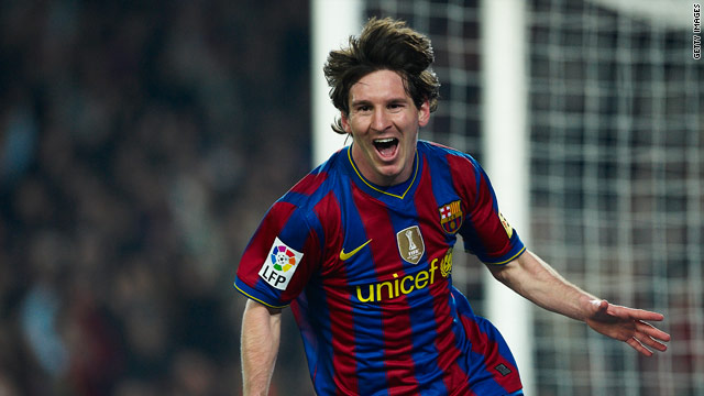 Messi has been in unstoppable form for Barca with two straight hat-tricks in La Liga.