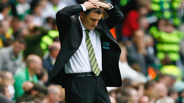 Tony Mowbray has paid the price for a string of poor results at Celtic this season.