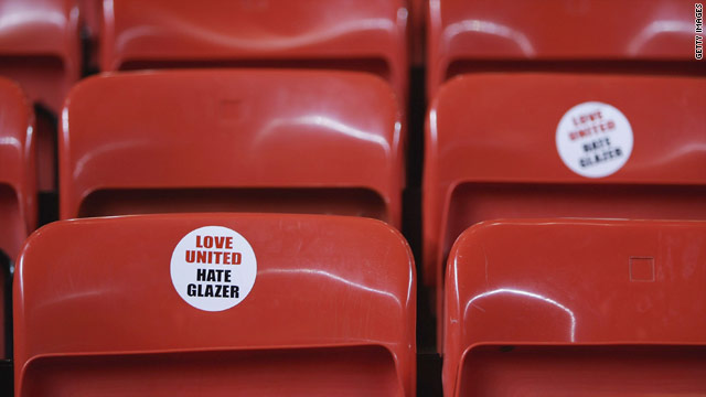 Manchester United fans have protested against the club's American owners at recent games.