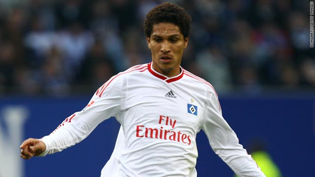 Hamburg striker Paolo Guerrero has only just returned to action after seven months out with a knee injury.