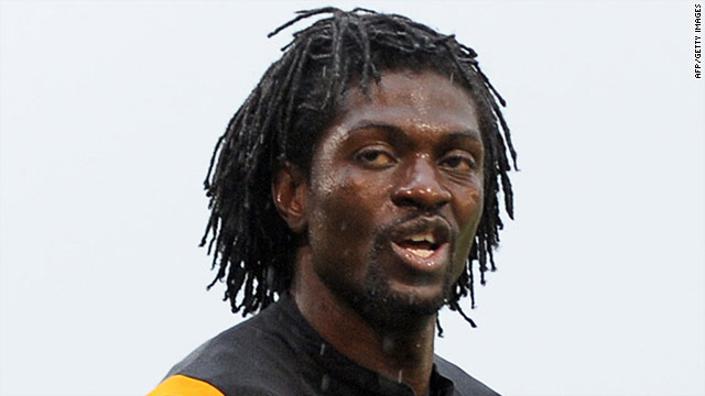 Former Togo captain Emmanuel Adebayor will focus on playing for his English club Manchester City.