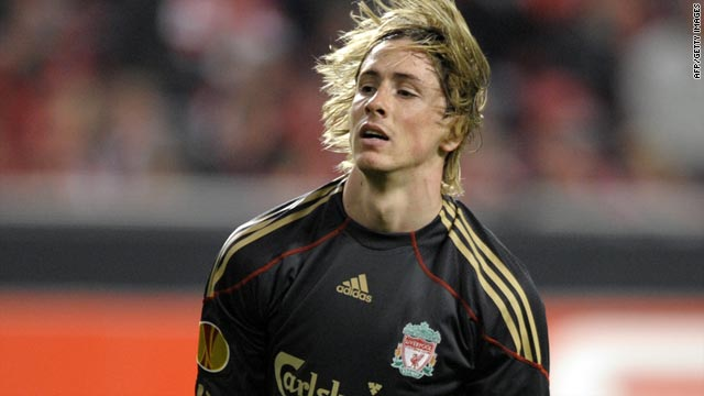 Striker Fernando Torres has scored 22 goals in a difficult season for English club Liverpool.