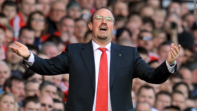 Liverpool manager Rafael Benitez steered his side to a 3-0 victory over West Ham on Monday night.