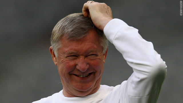 Alex Ferguson has been manager of Manchester United since 1986.