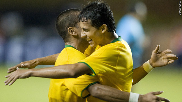 Brazil will be among the favorites for the World Cup in South Africa in June and July.