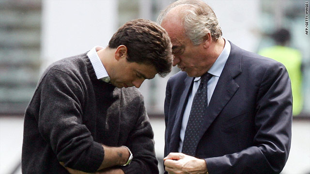 Agnelli (left) is continuing a fine family tradition by becoming the new president of Juventus.