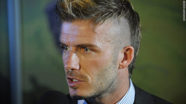David Beckham began working with the English World Cup bid team at the end of 2009.