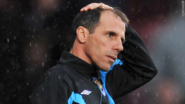 Gianfranco Zola's reign as West Ham United manager ended on Tuesday.