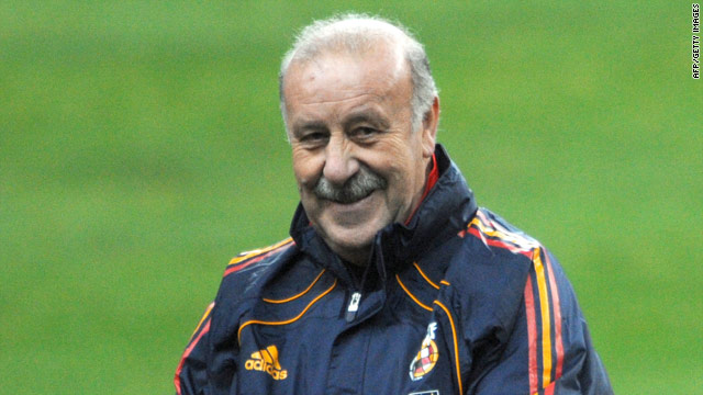 Vicente Del Bosque took over as Spain coach after Luis Aragones took the team to success at Euro 2008.