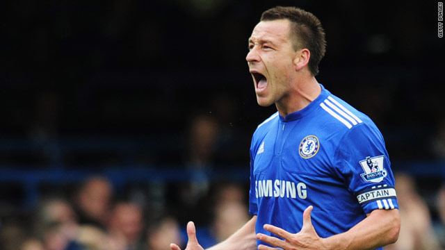Terry is a key player for both his club side Chelsea and England.