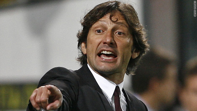 AC Milan coach Leonardo has left the Serie A giants after just one season in charge of the club.