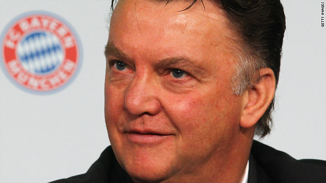 Louis Van Gaal will aim to win his second European Cup on 22 May.