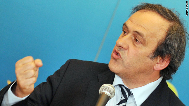 Michel Platini believes the personalities of Louis Van Gaal and Jose Mourinho have dominated the final buildup