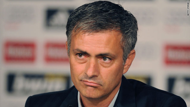 Jose Mourinho wants to become the first coach to win the European Cup with three different clubs.