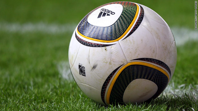 "The ""Jabulani"" is the official 2010 World Cup ball produced by German company Adidas. Its name means ""celebrate."""