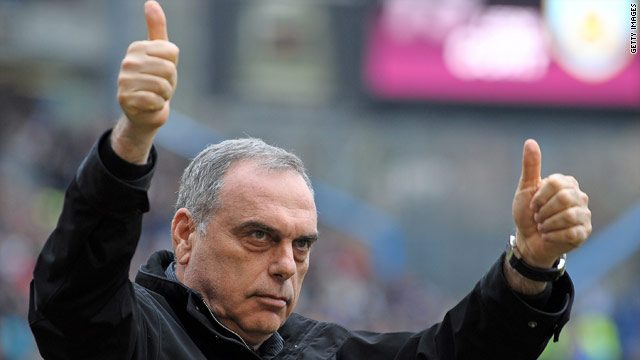 Avram Grant is the new manager of English Premier League club West Ham United.