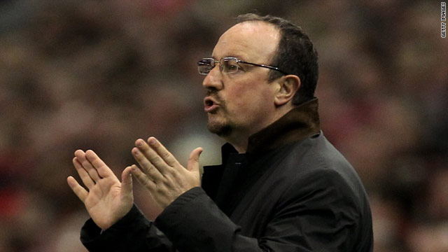 Rafael Benitez won the Champions League with Liverpool in 2005 but the team struggled last season.