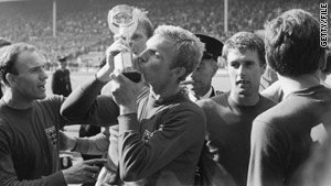 How to impress your boss if he's English: Make great mention of 1966 and the nation's only World Cup win