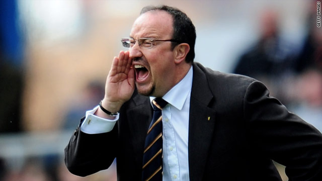 Spanish coach Rafael Benitez is Jose Mourinho's replacement at European champions Inter Milan.