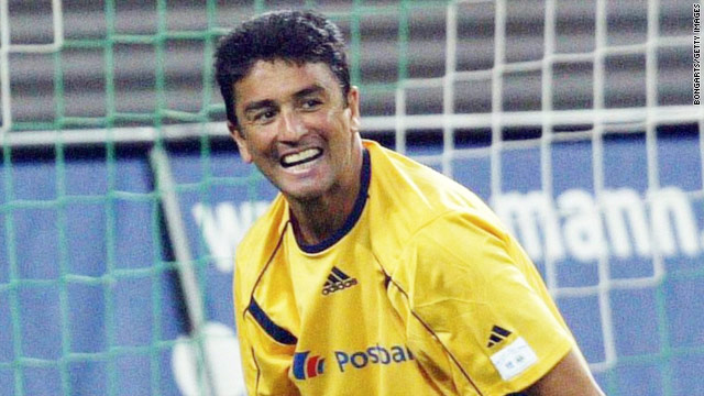 Bebeto played in three World Cups for Brazil, winning the title in 1994 and finishing on the losing team four years later.