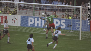 Argentina lost to underdogs Cameroon at Italia 90, yet weeks later reached the tournament final.