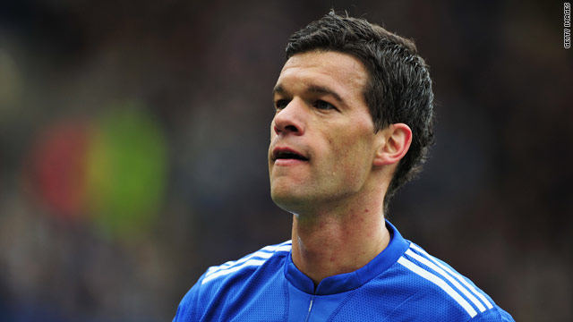 Ballack was released by English Premier League champions at the end of last season.