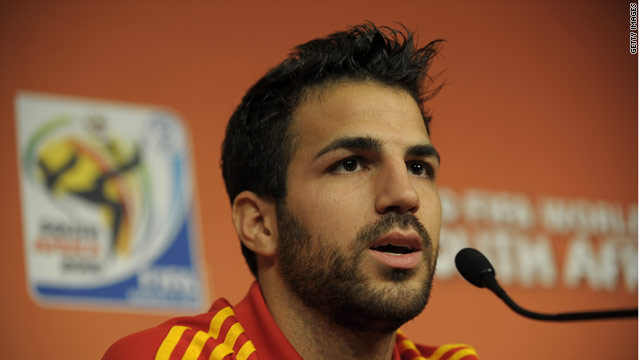 Fabregas is currently starring for Spain at the World Cup but his club future is in the balance.