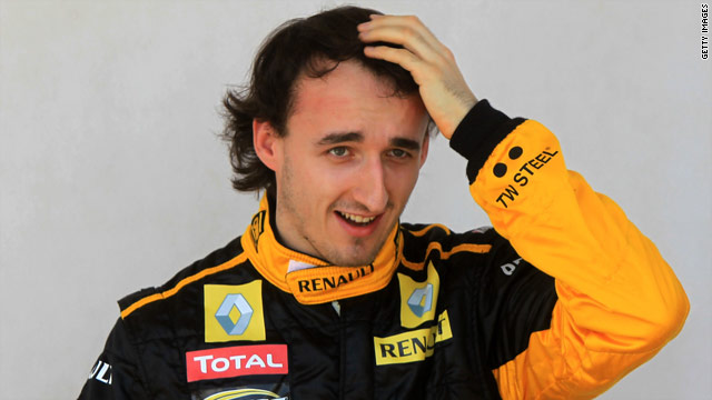 Robert Kubica has committed himself to Renault until the end of the 2012 season.