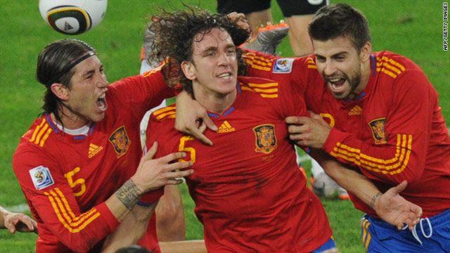 Spain tops Germany, makes Cup final