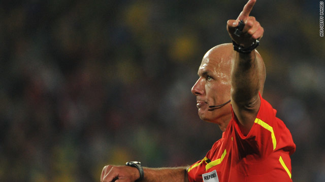 Howard Webb will become the fourth Englishman to referee a World Cup final when he takes charge of Spain v Netherlands.