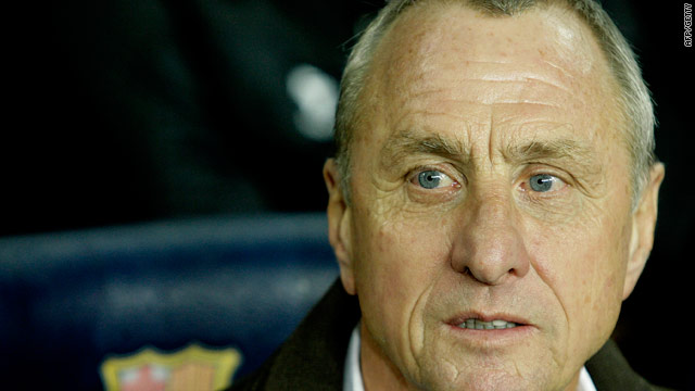 Dutch legend Cruyff was not impressed by their style of play in the 1-0 World Cup defeat to Spain.