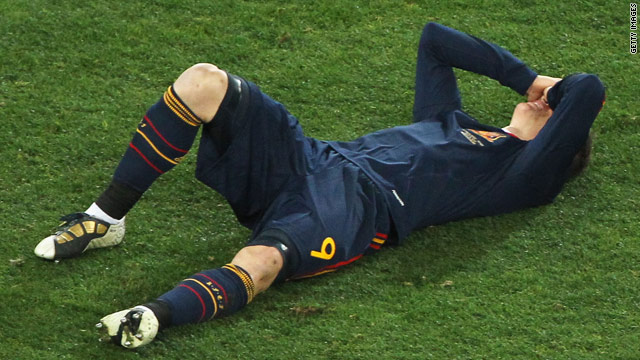 Spain striker Fernando Torres failed to score in South Africa despite his country winning its first World Cup.